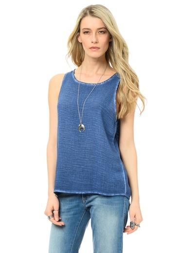 Bluz | Regular Fit Mavi